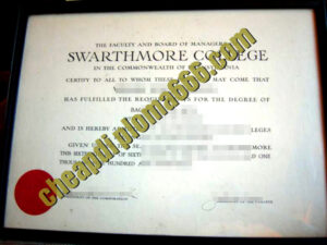 buy Swarthmore College degree certificate