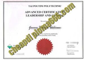 buy Tai Poutini Polytechnic degree certificate