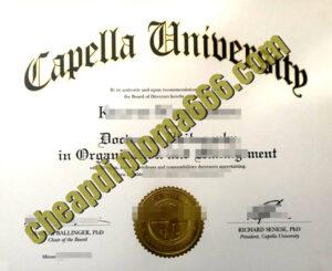 buy Capella University degree certificate
