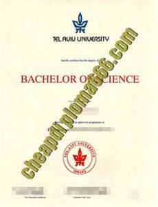 buy Tel Aviv University degree certificate