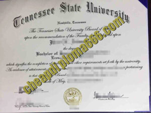 buy Tennessee State University degree certificate