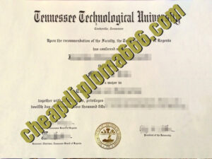 buy Tennessee Technological University degree certificate