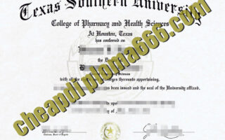 buy Texas Southern University degree certificate