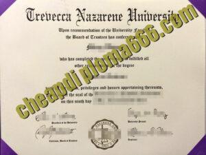 buy Trevecca Nazarene University degree certificate