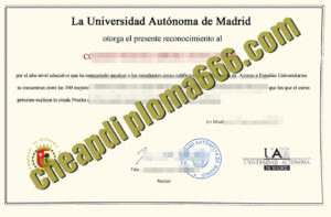 Universidad-Autónoma-de-Madrid degree