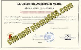 Universidad-Autónoma-de-Madrid degree