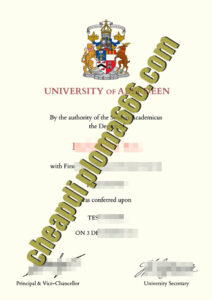 buy University of Aberdeen degree certificate