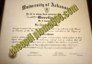 buy University of Arkansas degree certificate
