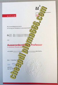 buy University of Bern degree certificate