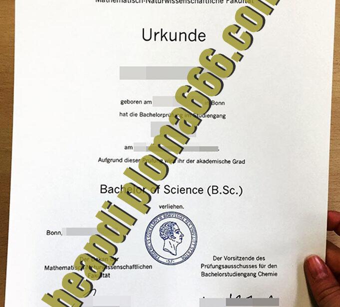 buy University of Bonn diploma