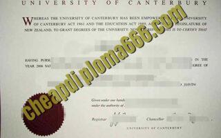 buy University of Canterbury degree certificate