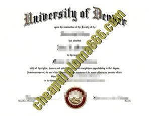 University of Denver fake degree