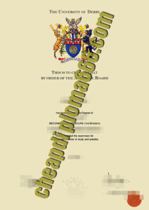 buy University of Derby diploma