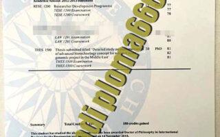 University of Greenwich fake transcript
