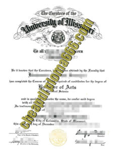 buy University of Missouri–St. Louis degree certificate