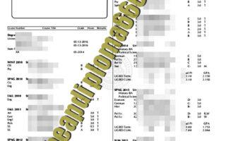 buy University of Missouri transcript