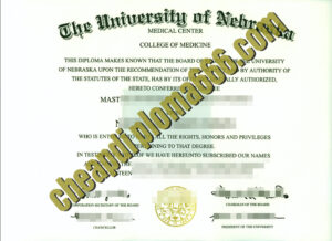 buy University of Nebraska–Lincoln degree certificate
