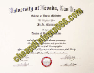 buy University of Nevada, Las Vegas degree certificate