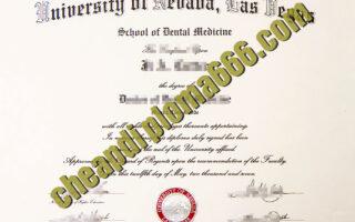buy University of Nevada, Las Vegas degree certificate