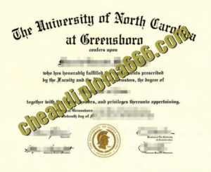 buy University of North Carolina at Greensboro degree certificate