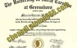 buy University of North Carolina at Greensboro degree certificate