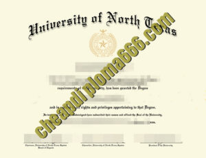 buy University of North Texas degree certificate