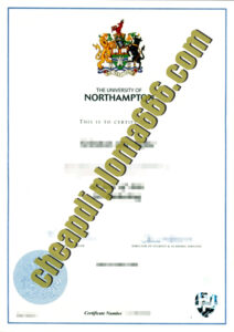buy University of Northampton degree certificate