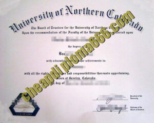 buy University of Northern Colorado degree certificate