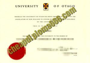 buy University of Otago degree certificate