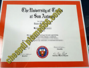 buy University of Texas at San Antonio diploma