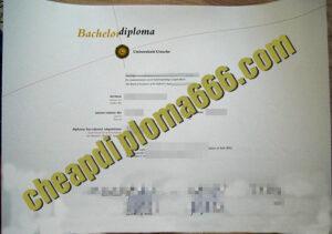 fake Utrecht University degree certificate