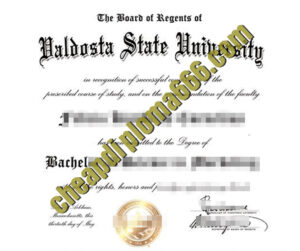 buy Valdosta State University degree certificate