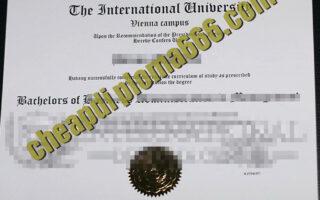 Vienna University of Technology degree certificate