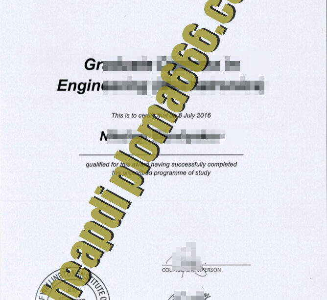 fake Wellington college of technology degree certificate