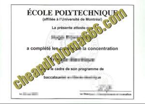fake Ecole Polytechnique degree