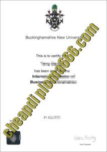 buy Buckinghamshire New University degree certificate
