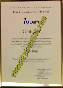 buy Delft University of Technology degree certificate