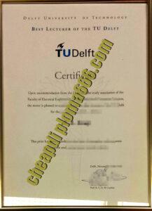 buy Delft University of Technology degree certificate