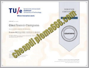 fake Eindhoven University of Technology degree certificate