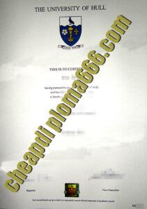 University of Hull fake degree certificate
