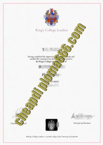 University of King's College fake diploma