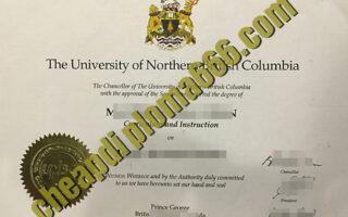 buy University of North British Columbia degree certificate