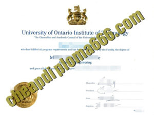 University of Ontario Institute of Technology fake degree certificate