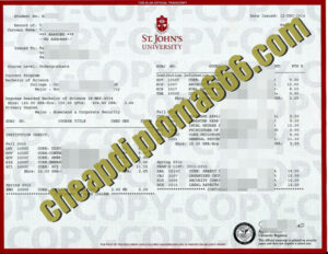 buy York St John University transcript