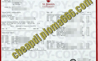 buy York St John University transcript