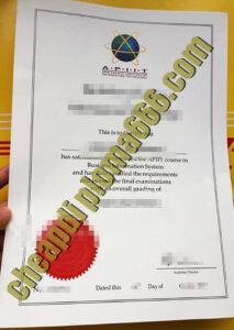 APIIT certificate