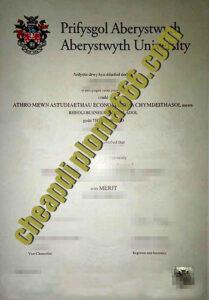 Aberystwyth University fake degree