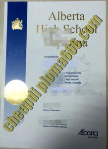 Alberta High School certificate