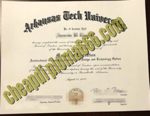 Arkansas Tech University fake degree