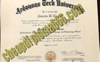 Arkansas Tech University fake degree